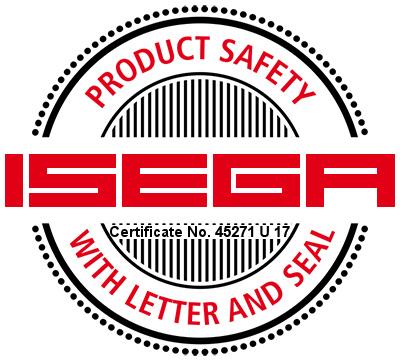 Logo Isega certificate-45271 U 17 - Evolis