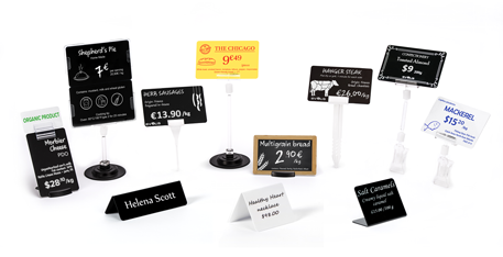 Edikio Duplex - Price tags accessories