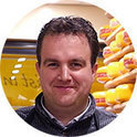 Peter Kalkman, Manager of the Kalkman cheese shop, the Netherlands