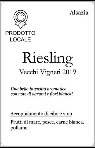 Riesling presentation tag